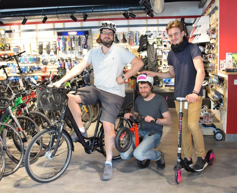 Cyclable à Vienne – Magasin de vélos et accessoires –
