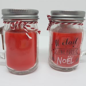 Bougie à message – il était une fois Noël – parfumée Magie de Noël