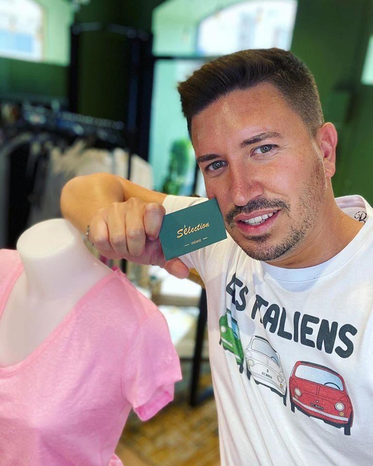 Anthony et sa SELECTION à Vienne – vous propose un service de livraison pendant le confinement – Prêt à porter féminin et masculin