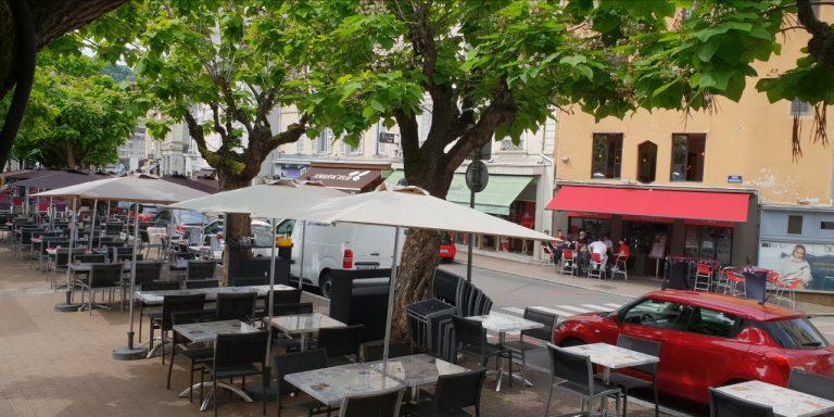 Les commerçants du quartier du cours Romestang à Vienne s'adaptent au contexte…